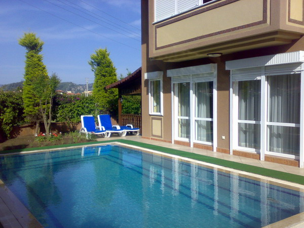 Luxury private holiday villa for rental in Turkey